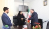 دیدار شهردار مبارکه با سرکار خانم مهندس سعیدی نماینده مردم شهرستان مبارکه در مجلس شورای اسلامی