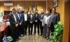 دیدار نوروزی مدیران ادارات شهرستان با جناب مهندس هاشمی شهردار مبارکه