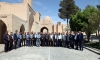 بازدید اعضای ستاد بازآفرینی شهرستان مبارکه از پروژه های بازآفرینی شهرستان نائین