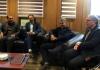گزارش خبری / دیدار رئیس اداره صنعت، معدن و تجارت و هیئت رئیسه اتاق اصناف شهرستان  با شهردار مبارکه