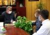 ملاقات مردمی شهردار مبارکه با شهروندان در راستای حل مشکلات شهروندی