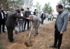 کاشت نهال به مناسبت روز درختکاری و هفته منابع طبیعی