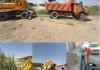 روایت تلاش/ عملیات لایروبی و پاکسازی کانال های دفع آب های سطحی در شهر مبارکه و محلات