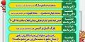 جدول زمانبندی جشن های دهه ولایت شهرستان مبارکه