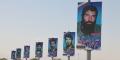 گزارش تصویری/ تعویض تمثال مبارک سرداران شهید در ورودی شهر