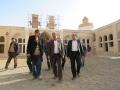 بازدید شهردار مبارکه از آماده سازی ارگ تاریخی نهچیر جهت برنامه های نوروزی