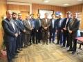دیدار مدیران شهرداری مبارکه با شهردار به مناسبت 25 اسفند ماه روز شهردار