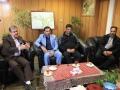 دیدار رئیس اداره ورزش و جوانان شهرستان با شهردار مبارکه به مناسبت روز شهردار