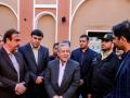 بازدید نوروزی استاندار اصفهان از ارگ تاریخی نهچیر مبارکه