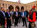 بازدید شهردار مبارکه از نخستین جشنواره فرهنگی و هنری نوروزگاه در ارگ تاریخی نهچیر