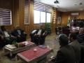 دیدار نوروزی هیئت رزمندگان اسلام شهرستان با شهردار مبارکه