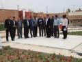 بازدید شهردار و اعضای شورای اسلامی شهر ابریشم از پروژه های عمرانی شهرداری مبارکه