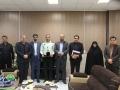 دیدار شهردار و اعضای شورای اسلامی شهر مبارکه با فرمانده انتظامی شهرستان مبارکه