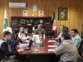 جلسه ساماندهی تردد وسایل نقلیه سنگین با تأکید بر جداسازی ترافیک محلی زیرگذر محله قهنویه - فولاد مبارکه
