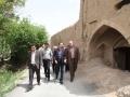 بازدید شهردار مبارکه از بافت تاریخی محله اسماعیل ترخان در راستای بررسی اجرای طرح باز آفرینی شهری