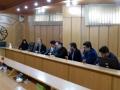 جلسه ساماندهی و بهبود وضعیت کشتارگاه صنعتی مبارکه در راستای بحران کمبود آب