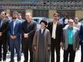 برگزاری مراسم گرامیداشت حماسه سوم خرداد و  غبار روبی گلستان شهدای مبارکه به همین مناسبت