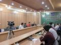 گزارش تصویری/نشست صمیمی شهردار مبارکه با جمعی از هنرمندان