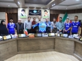 گزارش تصویری/ رونمایی از پیراهن تیم فوتبال صفاهان مبارکه