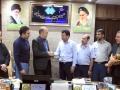 تقدیر از مهندس عباسیان رئیس شورای اسلامی شهرستان و کارمند خدوم اداره تامین اجتماعی  به مناسبت هفته تامین اجتماعی
