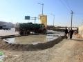 گزارش تصویری/ شروع عملیات پیاده رو سازی در ورودی محله اسماعیل ترخان /روایتی از اقدام و عمل در حوزه عمرانی