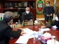 ملاقات مردمی شهردار مبارکه با شهروندان- 22 دی ماه 1399
