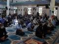 استقرار میز خدمت شهرداری مبارکه در مصلی نماز جمعه به مناسبت هفته دولت