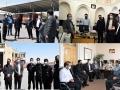 بازدید رئیس، اعضای شورای اسلامی شهر و سرپرست شهرداری مبارکه از معاونت ها و سازمان های وابسته مدیریت شهری