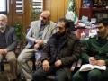 گزارش تصویری / برگزاری جلسه هماهنگی مراسم شهید آبروی محله (سردار شهید نعمت اله ربیعی )