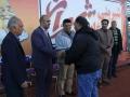 گزارش تصویری / حضور رئیس و نائب رئیس شورای اسلامی شهر مبارکه در مراسم اختتامیه مسابقات لیگ دسته دو شهرستان