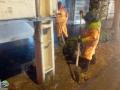 گزارش تصویری/تلاش جهادی و همه جانبه پرسنل حوزه خدمات شهری شهرداری مبارکه از شب گذشته /آماده باش کامل نیرو ها و تجهیزات