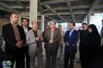 بازدید از روند پیشرفت پروژه حسینیه مرکزی شهر مبارکه