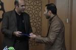 مراسم معارفه جناب آقای مهندس حجت اله بهشتی نژاد سرپرست محترم معاونت عمران