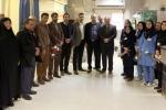 شهردار و اعضای شورای  اسلامی شهر مبارکه از پرستاران این شهر تقدیر کردند