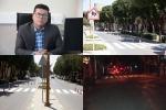 اجرای خطکشی عابر پیاده در چند مسیر پرتردد سطح شهر