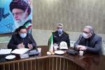 جلسه هماهنگی اجرای پروژه سرمایه گذاری شبکه فیبر نوری شهر مبارکه برگزار شد