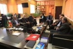 گزارش تصویری/ دیدار مدیریت شهری مبارکه با فرماندار شهرستان
