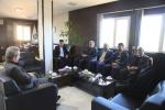 گزارش تصویری / جلسه مشترک مدیریت شهری مبارکه با مدیرکل حفاظت محیط زیست استان اصفهان