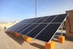 احداث نیروگاه خورشیدی 5 کیلوواتی در شهرداری مبارکه