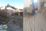 اجرای مصوبات کمیسیون بند14 ماده55 قانون شهرداریها در خیابان سلمان و محله دهنو