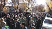 تشیع پیکر شهید مدافع حرم سید محسن حسینی