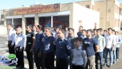 گزارش تصویری /آغاز دوره آموزشی آتش نشانان افتخاری در شهر مبارکه