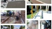 اقدامات شهرداری مبارکه در مناسبسازی معابر و فضاهای شهری جهت تردد معلولین