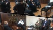 جلسه مشترک مدیران شهرستان با معاون وزیر و مدیر عامل شرکت مادر تخصصی شهرهای جدید کشور