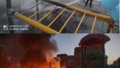 آتش زدن وسایل بازی کودکان در پارک محله 10 صفائیه مبارکه