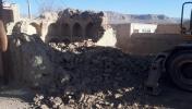 روایت تلاش در حوزه خدمات شهری شهرداری مبارکه/ تخریب ساختمان حادثه ساز طبق بند14 ماده55 قانون شهرداریها محله درچه