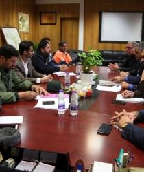 گزارش تصویری / جلسه طرح کرامت پیرامون کاهش آسیب های اجتماعی با حضور مسئولین شهرستان برگزار شد