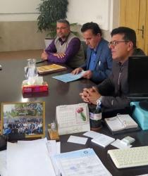 جلسه کمیسیون بند 14 ماده 55 قانون شهرداریها با حضور اعضا برگزار شد