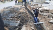 لایروبی کانالها و جمعآوری برگ درختان برای جلوگیری از آبگرفتگی معابر