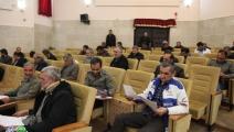 برگزاری آزمون کتبی نیروهای حفاظت فیزیکی شهرداری های شهرستان